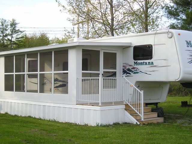 Rv sunroom for Modular sunrooms
